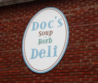Carol L - lunch at doc's